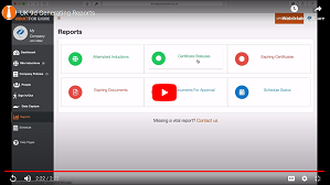 Onine-Induction-Training-LMS-Video-Help-Generating-Reports
